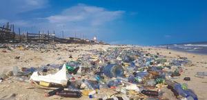 Plastic pollution in ghana