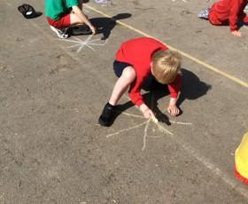 Y5 outdoor maths 2